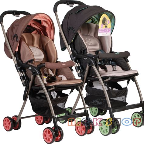 Belecoo 535s Stroller Green aprica aprica two way ultra light baby stroller karoon plus kelle 669 4 8kg se92 baby car baby