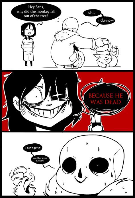 undertale sans big book of jokes for books annoying chara frisk and sans undertale by
