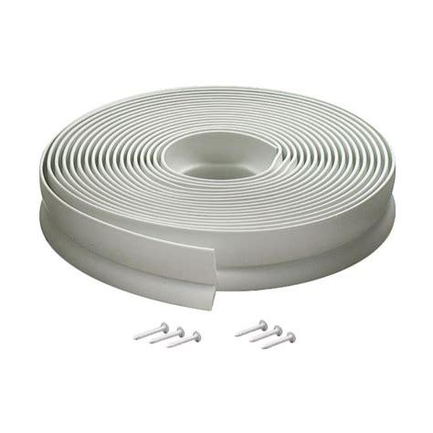 M D Building Products 1 In X 30 Ft Vinyl Garage Door Garage Door Weatherstripping Top And Side Seals