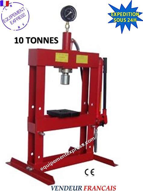 bureau d 騁ude hydraulique presse hydraulique d etabli atelier 10t avec manometre