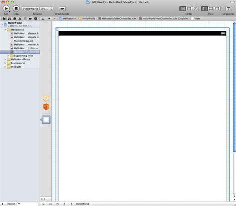xcode visual layout creating a simple ipad ios 4 app xcode 4 techotopia