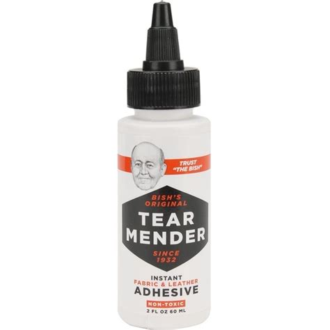 Leather Glue For by Tear Mender Tm 1 Fabric And Leather Adhesive Mender 2 Oz