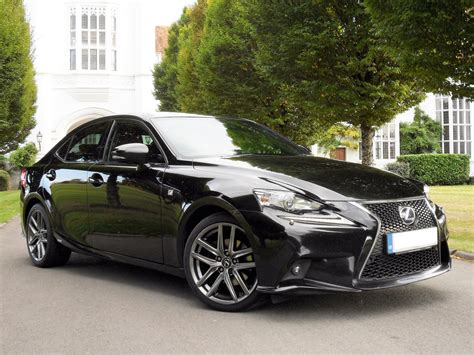 lexus saloon sport used lexus is 300h f sport black 2 5 saloon