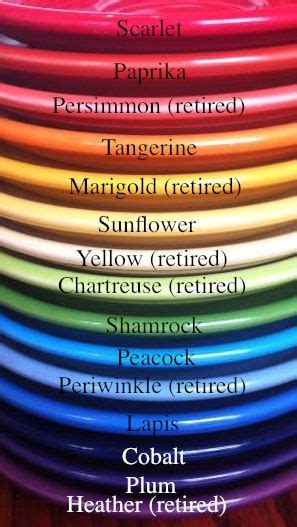 ware colors 255 best i fiestaware images on