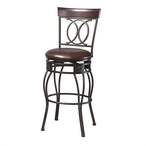 linon o x back 30 quot bar stool home furniture bar