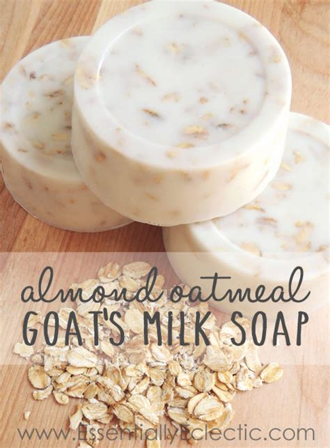 Handmade Goat Milk Soap Recipe - sweet almond honey oatmeal goat s milk soap