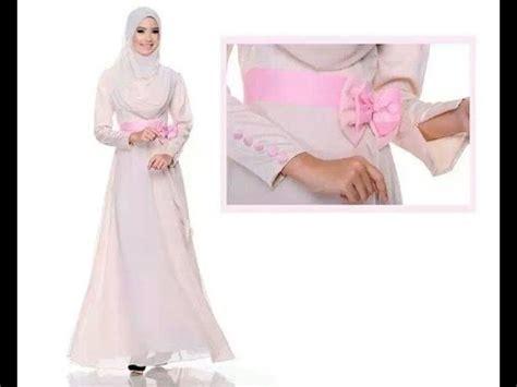 Baju Muslim Wanita Polkadot baju wanita muslim model terbaru model baju terbaru