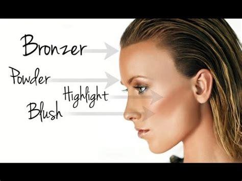 wayne goss makeup tutorial the basics powder bronzer highlighter blush makeup