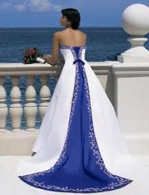 royal blue wedding bridal style and wedding ideas royal blue wedding dress