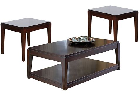 Table Set by Lansing Cherry 3 Pc Table Set Table Sets Wood