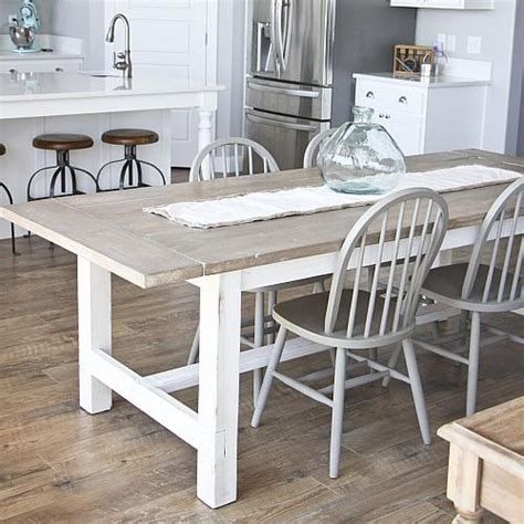 building a farmhouse diy weathered farmhouse table project by decoart
