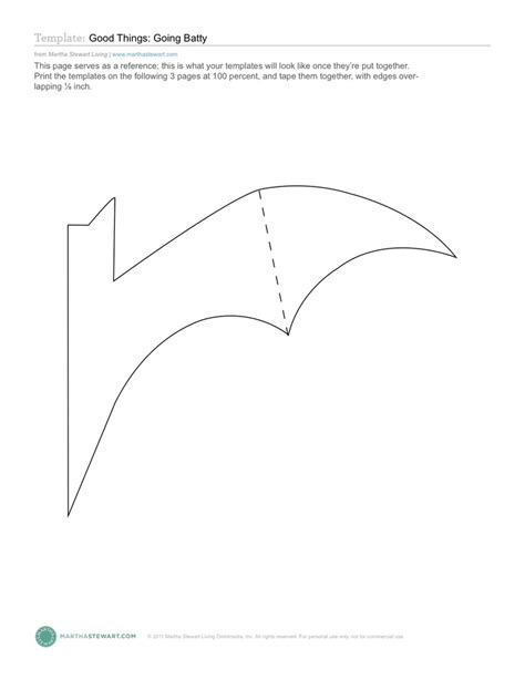 template for bats bat template october