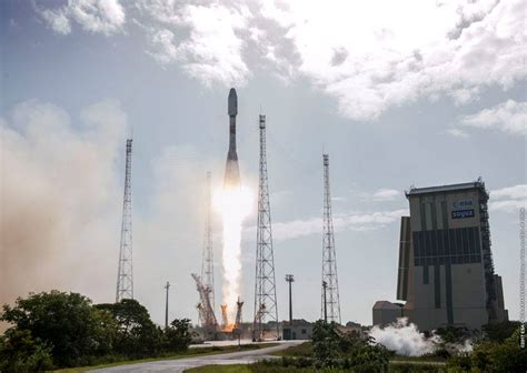 Sojuzs17 by Arianespace Operated Soyuz Rocket Lifts Multi Purpose