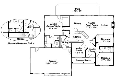 southwestern floor plans southwest house plans northrop 30 096 associated designs