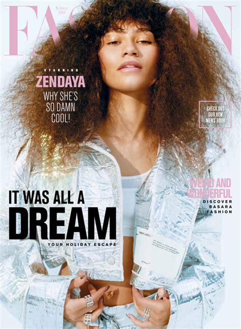 I This On In Style Magazines Site What Is In Your Bag by Zendaya Coleman Covers The Winter Issue Of Fashion