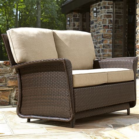 backyard glider ty pennington style parkside double glider limited availability outdoor living
