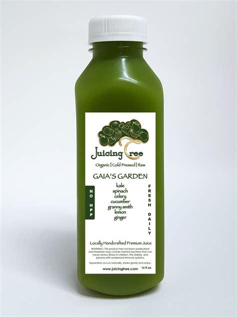 Cold Pressed Juice Secret Garden juicing tree organic cold pressed juice denver