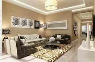 stylische wohnzimmer como decorar una sala con colores tierra