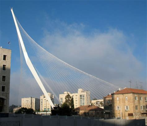 architekten münster calatrava br 252 cke in jerusalem eingeweiht wei 223 es