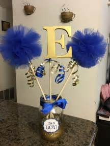 royal blue and gold baby shower decorations royal blue and gold baby shower centerpiece things i ve made gold baby showers