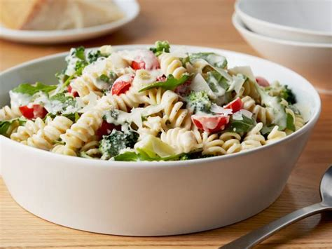 ina garten pasta recipes lemon fusilli with arugula recipe ina garten food network