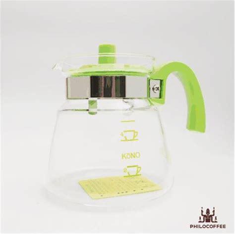 Alat Kopi Kono Meimon Dripper 3 4 Cups Kuning kono cerek gelas 4 cangkir hijau philocoffee