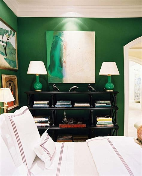 green wall bedroom green wall bedroom place in the city