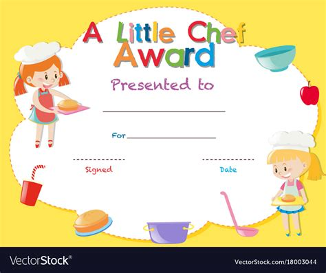 free certificate templates for cooking choice image