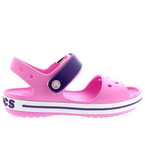 crocs childrens sandals unisex crocs crocband sandal casual slip on shoes