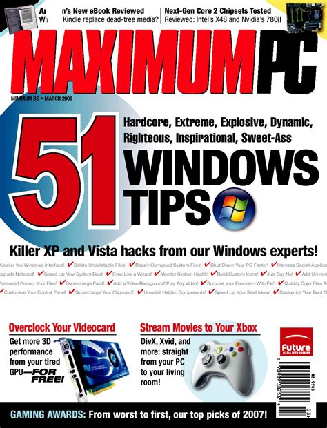 Speed Read Feed For March 20 2007 by Maximum Pc By Blacksuperman Issuu
