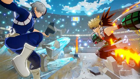 screenshots  shoto todoroki ochaco uraraka