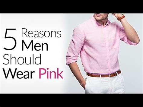 my top 5 feminine men 2011 youtube 5 reasons why all men should wear pink is pink really a