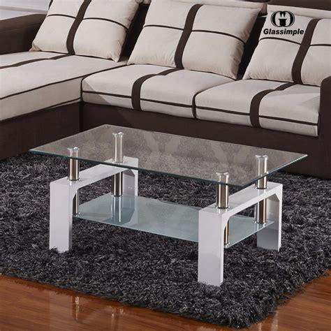 japanese living room glass coffee table featuring white sofa modern white glass coffee table rectangular shelf chrome