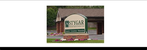 stygar family of funeral service support local