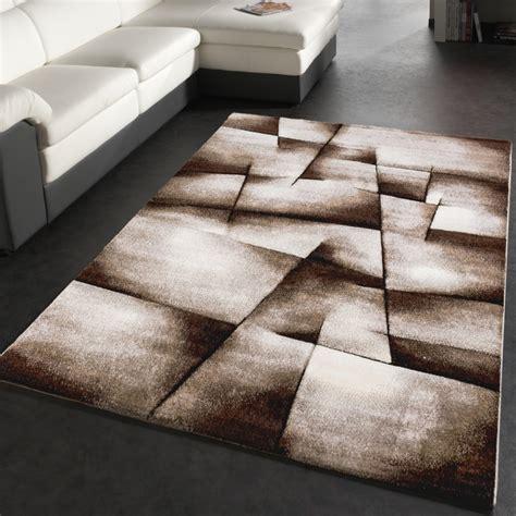teppich modern kaufen designer teppich modern kariert handgefertigt mit