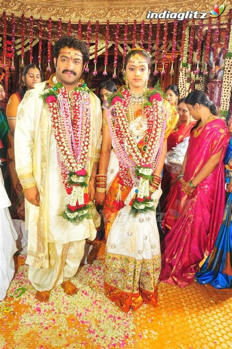 marriage pics chowdarys world jr ntr marriage pics