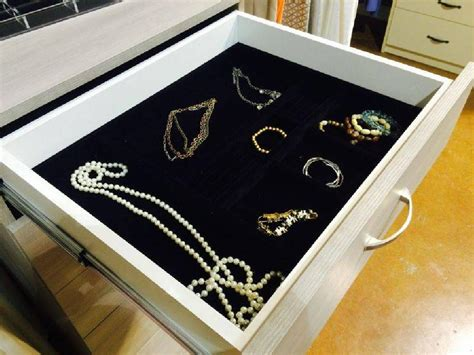 Jewelry Drawer Insert Tray by October Company Closet Drawer Insert Jewelry Tray Closet
