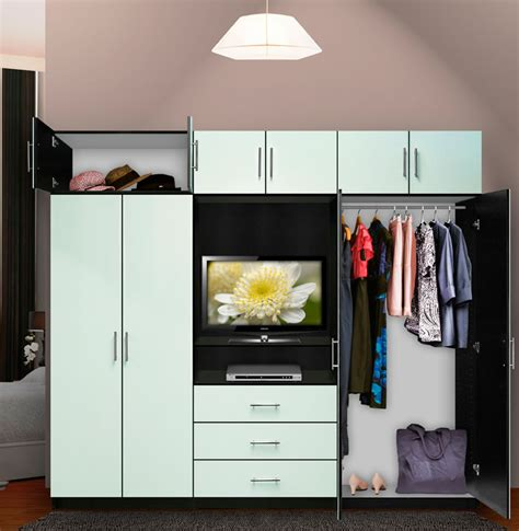 aventa bedroom wall unit  tall tv wall unit  extra bedroom storage contempo space