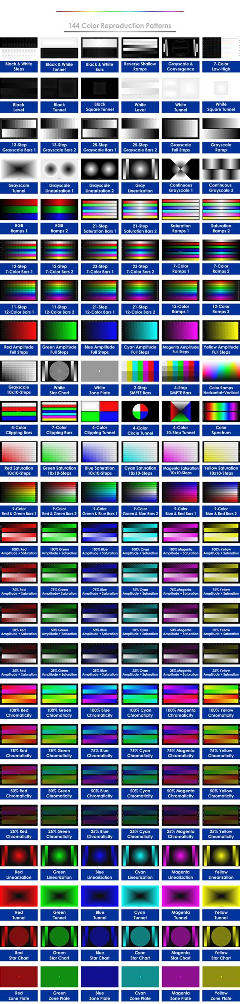 color pattern calibration ted s lightspace cms calibration disk disk features