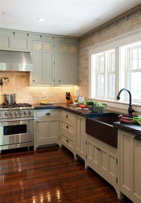 Accent Kitchen Cabinets Crown Point Cabinetry Valleyway 1928 Bungalow Copper Cabinets And The