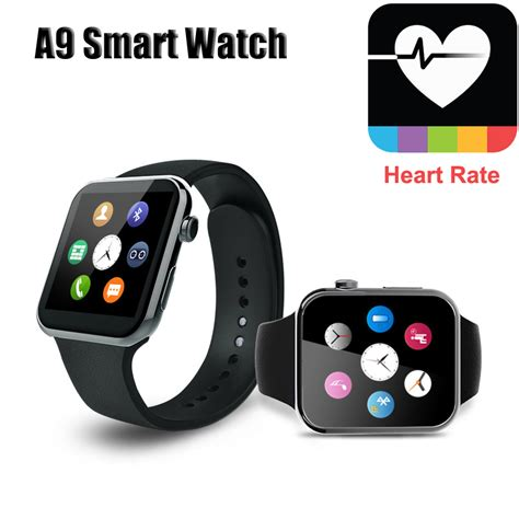 Smartwatch Iphone 6 a9 gold smart for apple iphone 6 5s 5c 5 wristwatch for samsung s4 s3 note2 note3