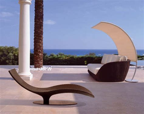 modern outdoor rattan furniture from roberti art for your patio