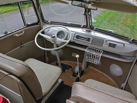 volkswagen bus interior 1967 volkswagen 21 window micro bus 158193