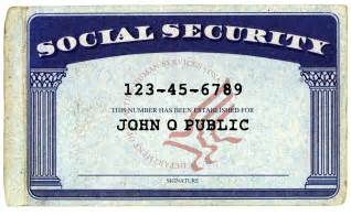 social security card template don t give your social security number at these places