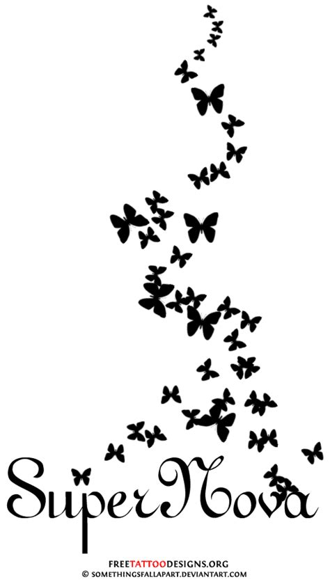 family butterfly tattoo designs 60 butterfly tattoos feminine and tribal butterfly