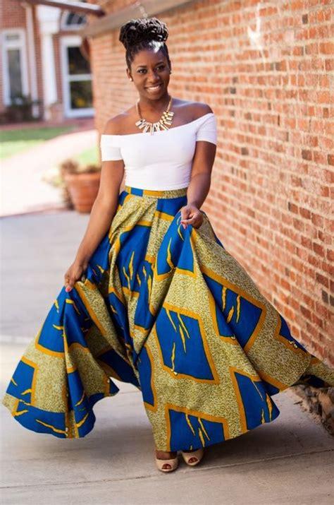 african attire skirt 50 fabulous modern ways to wear african fabric bglh