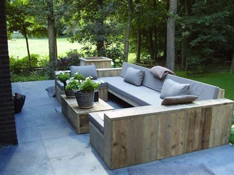 Wood Outdoor Patio Furniture Chic Outdoor Sofa Wood 1420 Best Images About Outdoor Furniture On Pinterest Outdoor