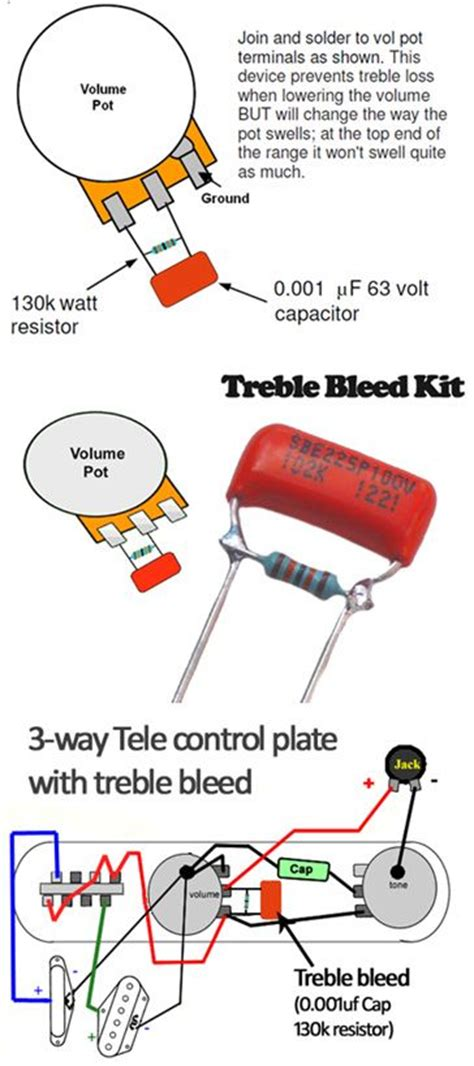 bleeder resistor size 17 best images about wiring on fabulous four guitar and electric guitars