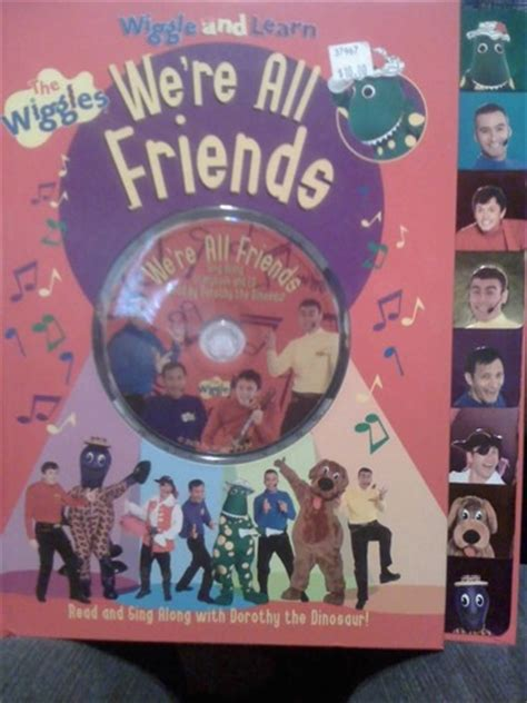 we re all friends the wiggles wiggle and learn the