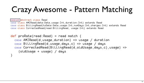 scala pattern matching in java scala for java developers intro